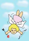 cupid κορίτσι Στοκ εικόνα με δικαίωμα ελεύθερης χρήσης