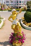 Cupid στον κήπο Στοκ φωτογραφία με δικαίωμα ελεύθερης χρήσης