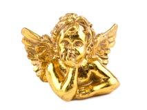 cupid χρυσό λευκό Στοκ φωτογραφία με δικαίωμα ελεύθερης χρήσης