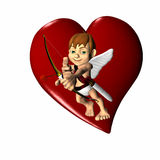 Cupid 1 Royalty Free Stock Photo