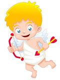 Cupid. Illustration of cute Cupid royalty free illustration