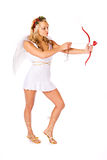 Cupid: Aiming For Love Stock Photo