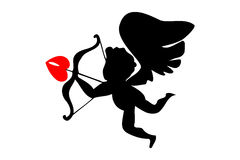 Cupid angel Stock Photo