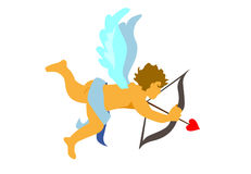 CUPID angel Stock Photo
