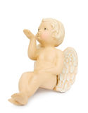 Cupid angel blowing kisses Royalty Free Stock Images