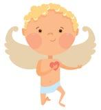 Cupid angel Royalty Free Stock Photo