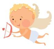 Cupid angel Stock Photos