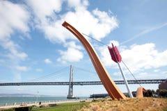 Cupid arrow, Embarcadero of San Francisco Stock Image