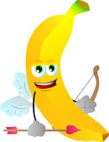 Cupid banana Royalty Free Stock Photo