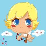 Cupid bonito Fotos de Stock