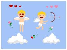 cupid Caráter para a animação Vetor Imagem de Stock