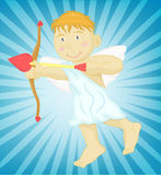 Cupid cartoon Stock Photography