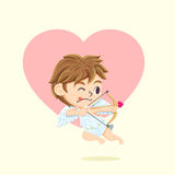 Cupid Character Stock Image