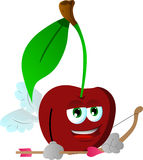 Cupid cherry Stock Images