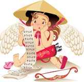 Cupid chines, Valentine day character Stock Images