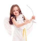 Cupid con la freccia immagini stock
