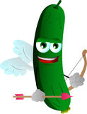Cupid cucumber or pickle Royalty Free Stock Photos