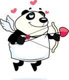 Cupid da panda ilustração stock