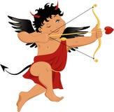 Cupid del diablo stock de ilustración