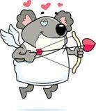 Cupid do Koala ilustração stock