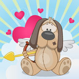 Cupid Dog Royalty Free Stock Images