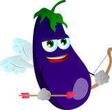 Cupid eggplant Stock Photo