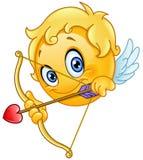 Cupid emoticon διανυσματική απεικόνιση