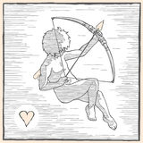 Cupid front Stock Photography