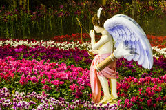 Cupid in the garden Royalty Free Stock Photo