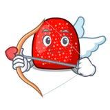 Cupid gumdrop character cartoon style stock illustration