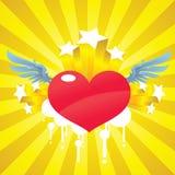 The Cupid Heart Stock Photos