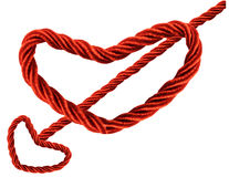 Cupid Heart Rope Stock Photo