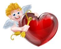 Cupid Heart Stock Photography