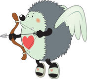 Cupid the hedgehog Royalty Free Stock Photography