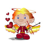Cupid Illustration Stock Photography