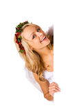 Cupid: Laughing Valentine Cupid Royalty Free Stock Photo