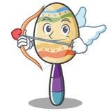 Cupid maracas character cartoon style Stock Photos