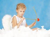 Cupid masculino Imagenes de archivo