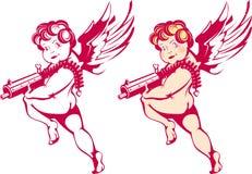 Cupid moderno ilustração do vetor