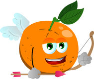 Cupid orange Stock Photography