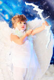 Cupid pequeno Foto de Stock