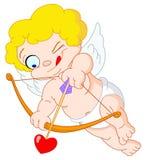 Cupid pequeno ilustração royalty free