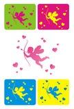 Cupid pequeno Fotos de Stock Royalty Free