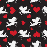 Cupid  Seamleess    Pattern Royalty Free Stock Photos