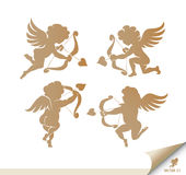 Cupid Set Stock Photography