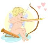 Cupid royalty free stock photo