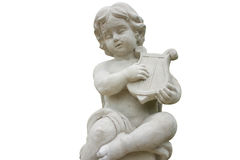 Cupid of song. The cupid of song statue isolated royalty free stock photo