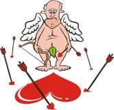 Cupid - sparato largamente Fotografia Stock Libera da Diritti