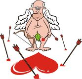 Cupid - sparato largamente Royalty Illustrazione gratis
