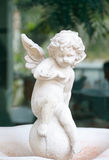 Cupid statue decoration Royalty Free Stock Photo